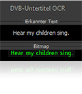 OCR subtitle conversion